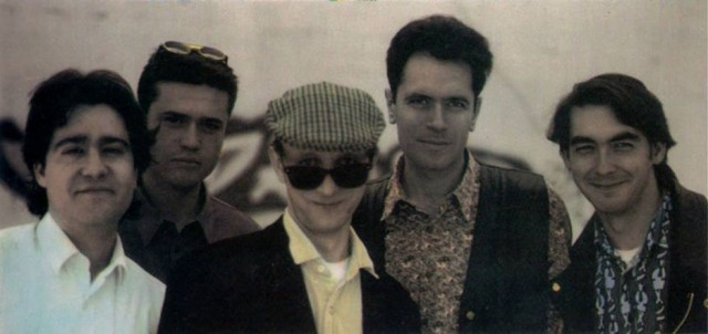 La muerte repentina de Fiddler Paul (en el centro) en 1992 supone un revés importante en LGEB